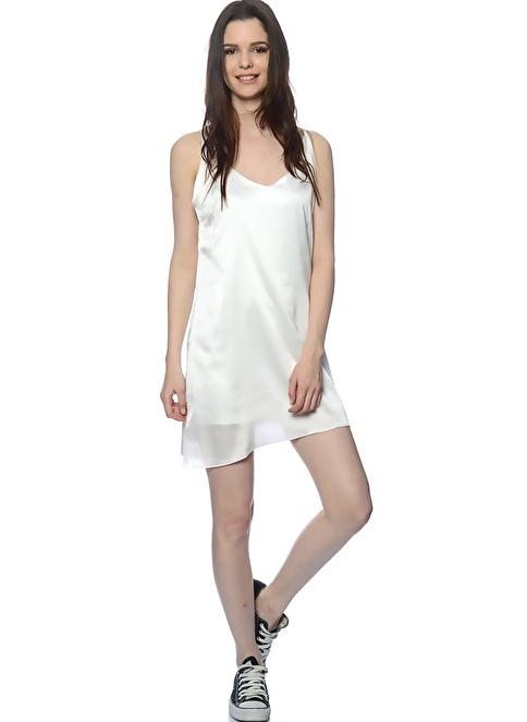 Sıx Crısp Days Elbise Beyaz